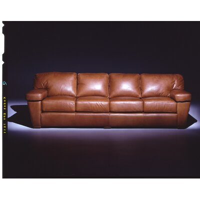 Omnia Leather PRE-4SLRS Prescott  4 Seat Sofa Leather Living Room Set
