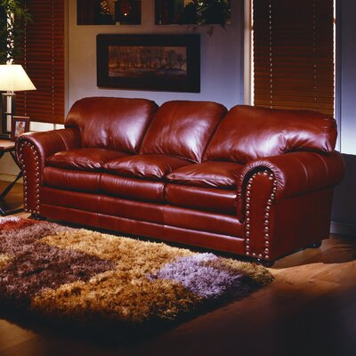 Omnia Furniture Torre 4 Seat Sofa Torre Leather Sofa