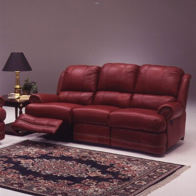 Omnia Furniture Morgan 4 Seat Sofa Morgan Leather Reclining Sofa