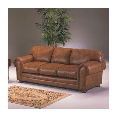 Omnia Furniture Cheyenne Loveseat Winchester Cheyenne Leather Loveseat