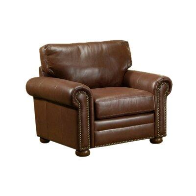 Savannah Leather Club Chair