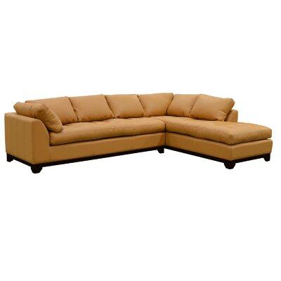 Espasio Leather Sectional