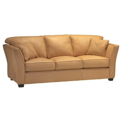 Omnia Furniture Manhattan 3 Seat Sofa Manhattan Leather Sofa