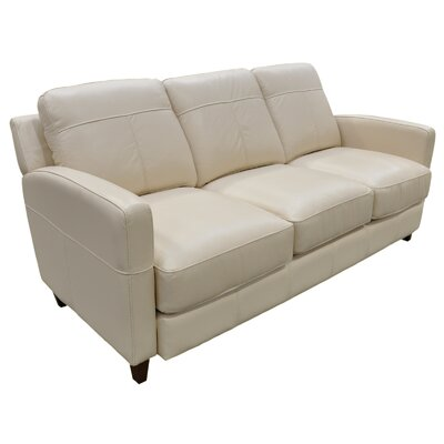 Omnia Furniture Skyline 3 Seat Sofa Skyline Leather Sofa