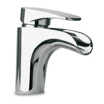 Bathroom Faucet Lever Handle with Drain Assembly Finish: Polished Chrome