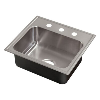 21 x 19 Single Bowl Drop-In Kitchen Sink