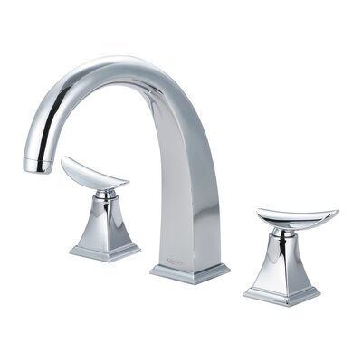 Widespread Bathroom Faucet Double Handle Finish: Polished Chrome