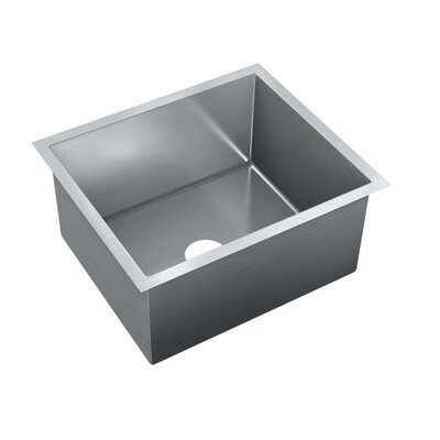 21 x 18 Single Bowl Undermount Kitchen Sink