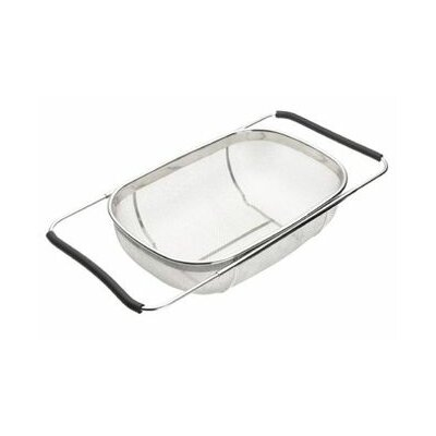 Stainless Steel Rinse and Drain Sink Colander