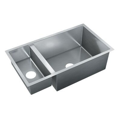 32 x 18 Double Bowl Undermount Kitchen Sink
