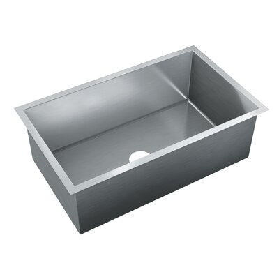 31.75 x 20 Single Bowl Undermount Kitchen Sink