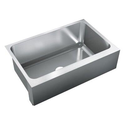 34 x 22 Single Bowl Undermount Kitchen Sink