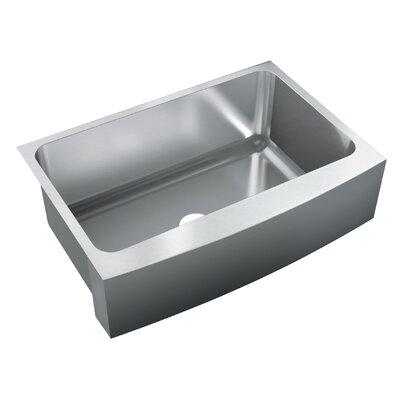 30 x 19.5 Single Bowl Undermount Kitchen Sink