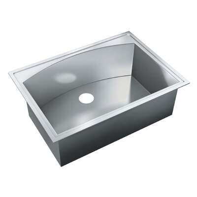 31 x 22 Self Rimming Single Bowl Kitchen Sink