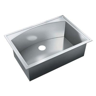 31 x 22 Self Rimming Single Bowl Kitchen Sink