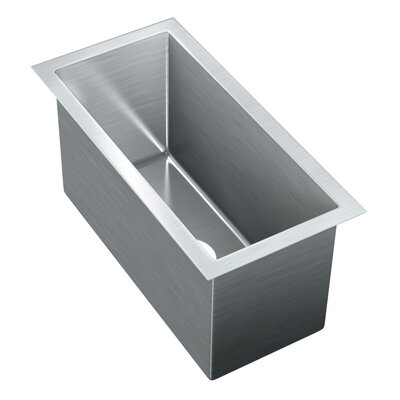 20 x 9.75 Single Bowl Undermount Kitchen Sink