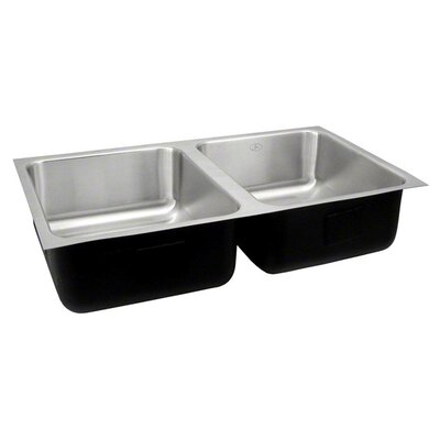 28 x 14 Double Bowl Undermount Kitchen Sink