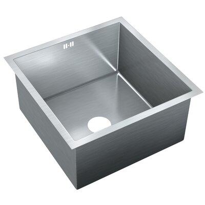 20 x 19.75 Single Bowl Undermount Kitchen Sink