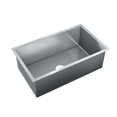32 x 18 Single Bowl Drop-In Kitchen Sink