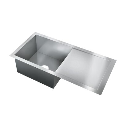 37 x 19 Single Bowl Flush Mount Kitchen Sink