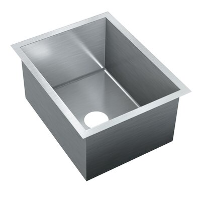 20 x 15.75 Single Bowl Undermount Kitchen Sink