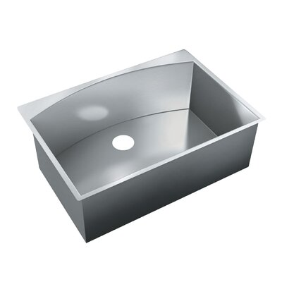 30 x 21 Single Bowl Undermount Kitchen Sink