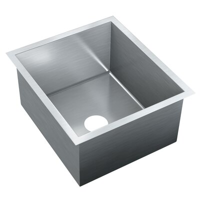 20 x 17.75 Single Bowl Undermount Kitchen Sink