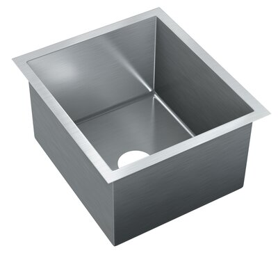 18 x 16 Single Bowl Undermount Kitchen Sink