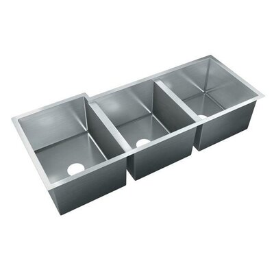 40.5 x 20 Triple Bowl Undermount Kitchen Sink