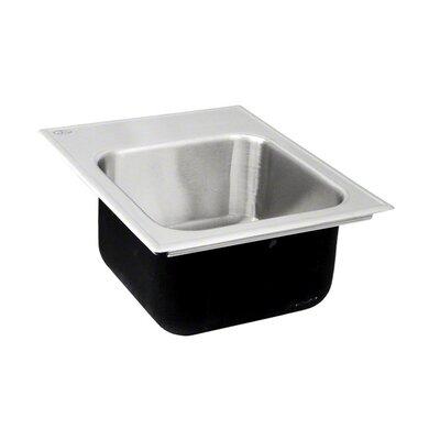 18 x 15 Single Bowl Drop-In Kitchen Sink