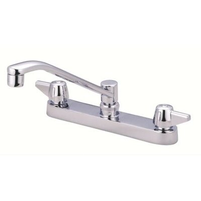 Double Handle Kitchen Faucet