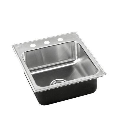 15 L x 18 W Drop-In Kitchen Sink