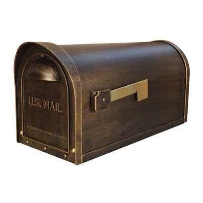 Wall Mounted Mailbox SCC-1008-BRZ