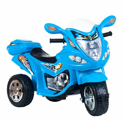 Baron Motorized Ride-On Motorcycle Color: Blue 80-FL238B