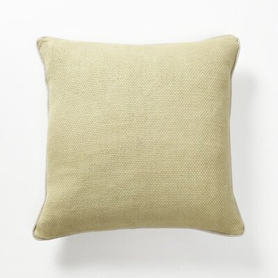 Illusion Textured Willow Basket Weave Straw Pillow