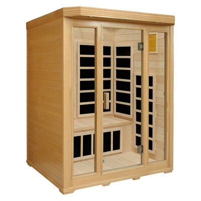 Crystal Sauna 3-Person Infrared Sauna with Seven Carbon Heaters at Sears.com