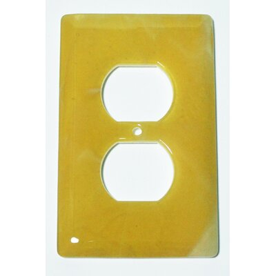 Swirl 1 Gang Receptical Wall Plate