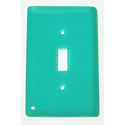 Solid 1 Gang Switch Wall Plate Color: Light Aqua Blue
