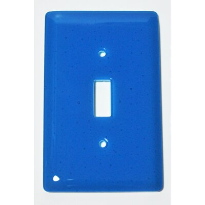 Solid 1 Gang Switch Wall Plate Color: Turquoise