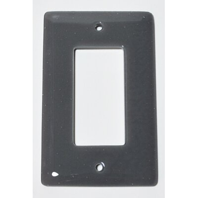 Solid 1 Gang Decora Wall Plate Color: Deco Gray
