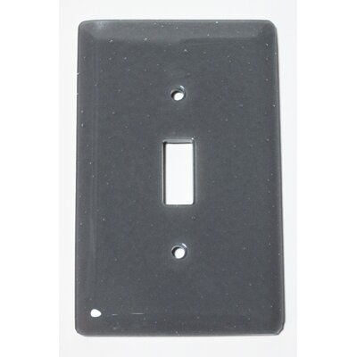 Solid 1 Gang Switch Wall Plate Color: Deco Gray
