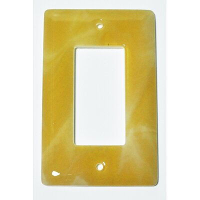 Swirl 1 Gang Decora Wall Plate
