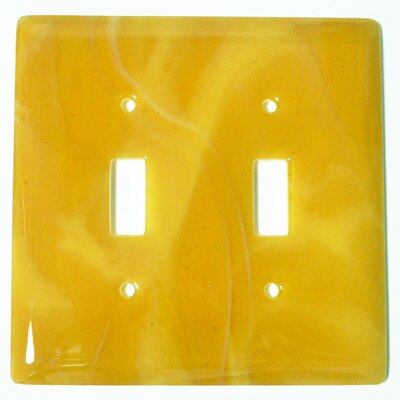 Swirl 2 Gang Switch Wall Plate