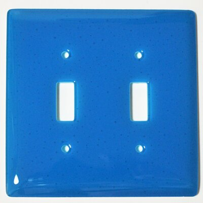 Solid 2 Gang Switch Wall Plate
