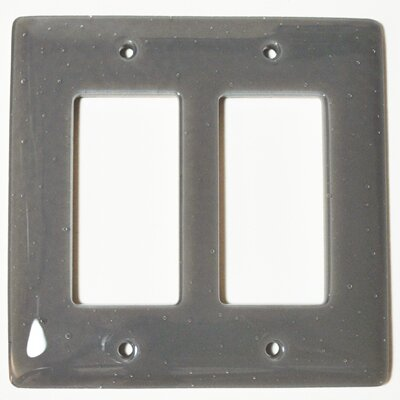 Solid 2 Gang Decora Wall Plate