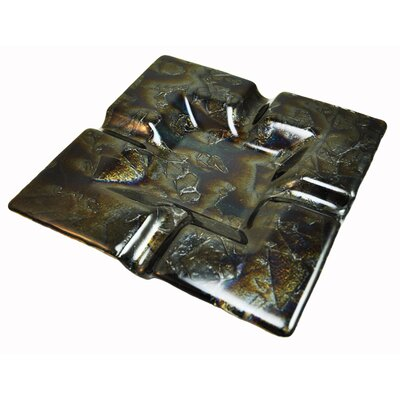 Hot Knobs 4 Cigar Tray - Finish: Fractures Black Irid at Sears.com