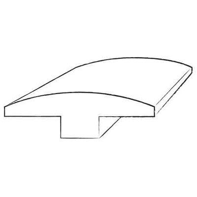 Furniture-0.57 x 2 x 88 Walnut T Molding