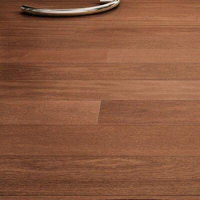 5-1/2 Solid Brazilian Chestnut Hardwood Flooring in Brown