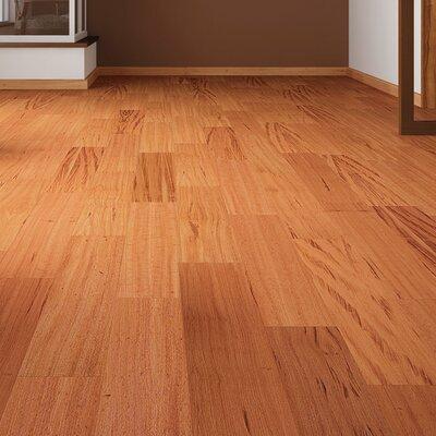 5-1/2 Solid Tigerwood Hardwood Flooring in Natural
