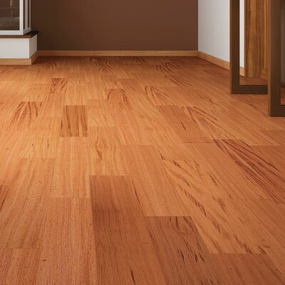 3 Solid Tigerwood Hardwood Flooring in Brown
